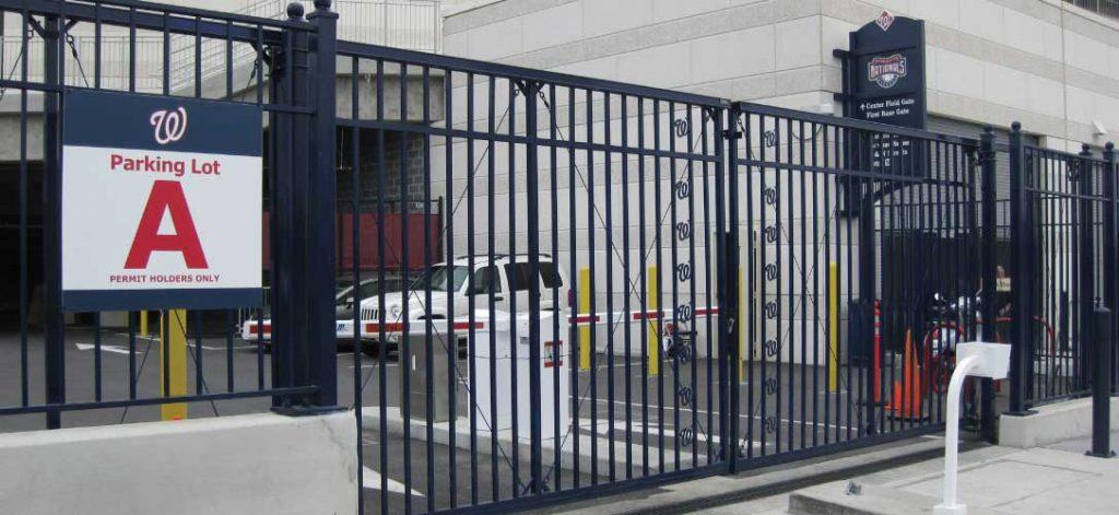 Iron World Sliding Gate