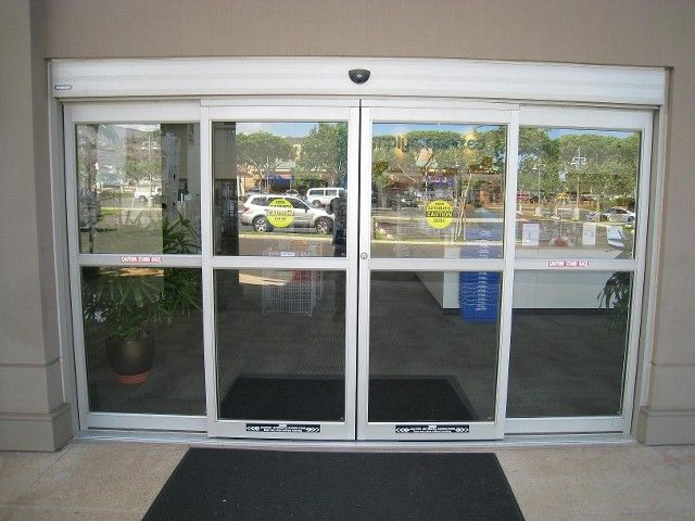 Automatic Sliding Door Storefront